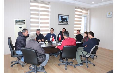 Ak Gıda (İçim Süt) İç Anadolu Bölge Sorumlusu ile Toplantı
