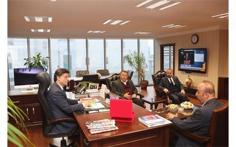 Ak Parti Ankara İl Başkanlığına Ziyaret