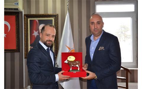 Ak Parti Sincan İlçe Başkanına Hayırlı Olsun Ziyareti