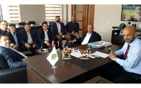 Ankara Metropolitan Municipality Rural Services Administration Head Özgür Güven Visited Region
