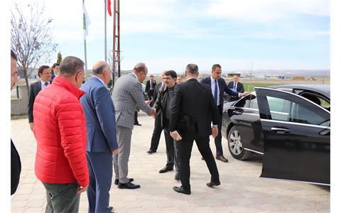 Ankara Valimiz Sayın Vasip Şahin Bölgemizde