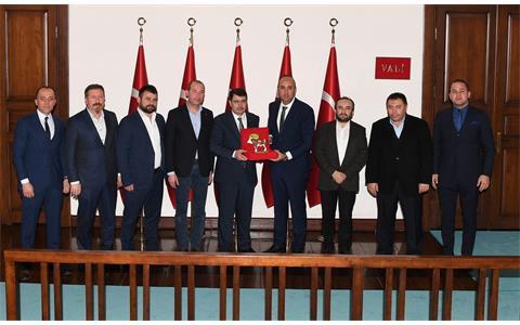 Ankara Valimiz Sayın Vasip Şahin'e Sincan Hayvancılık Bölgesi'nden Hayırlı Olsun Ziyareti