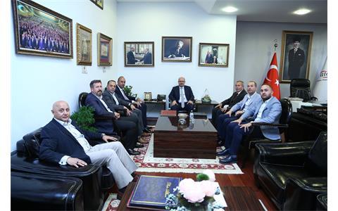 ATO Başkanı Gürsel Baran'a Hayırlı Olsun Ziyareti