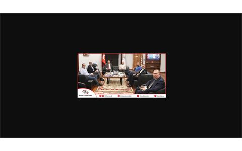 ATO BAŞKANI GÜRSEL BARAN'A SEKTÖR TEMSİLCİLERİNDEN ZİYARET
