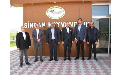 Azerbaycan Tarım Bakanlığından Bölgemize Ziyaret