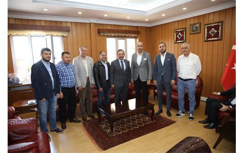Etimesgut Belediye Başkanı Enver Demirel'e Hayırlı Olsun Ziyareti