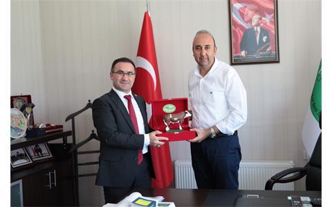 Çevre ve Şehircilik Bakanlığı Teftiş Kurulu Başkanı Sn. Musa Can'dan Bölgemize Ziyaret