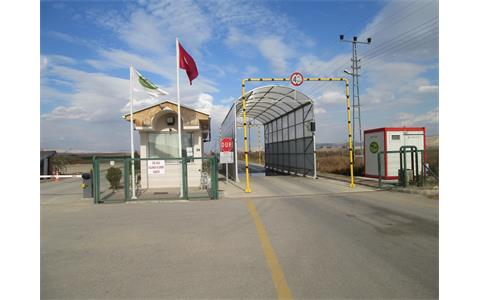 Security Gate (Control Building)