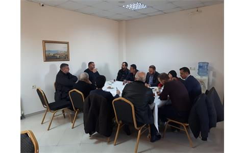 Osmanağa Süt Ürünleri Yetkilileriyle Toplantı