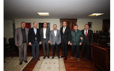 Sincan Belediye Başkanı Murat Ercan'a Hayırlı Olsun Ziyareti