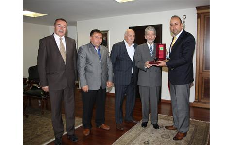Our visit to post of Sincan Mayor Mustafa Tuna