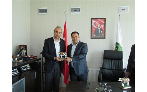 President of Sincan Chamber of Agriculture Zekeriya Gülmez visited our Region.