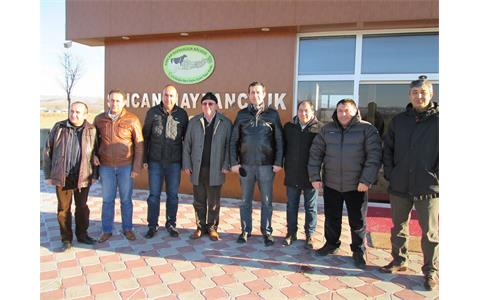 T.R Head of General Directorate Of Livestock of Ministry of Food Agriculture and Livestock  MUSTAFA KAYHAN visited our Region.