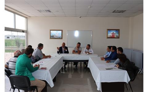 Ülker Firmasıyla Toplantı