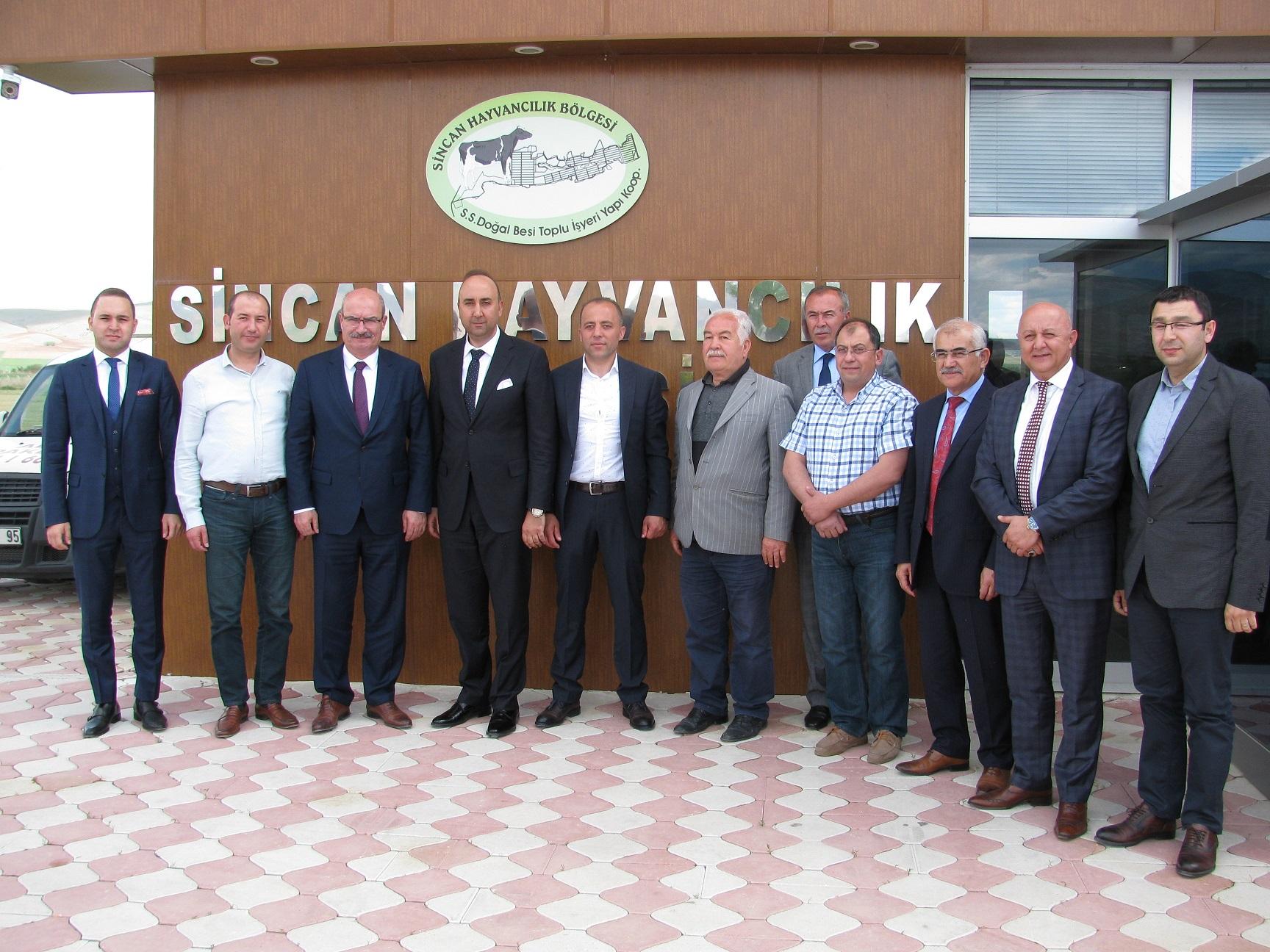 ATO Başkanı Gürsel Baran Bölgemizi Ziyaret Etti
